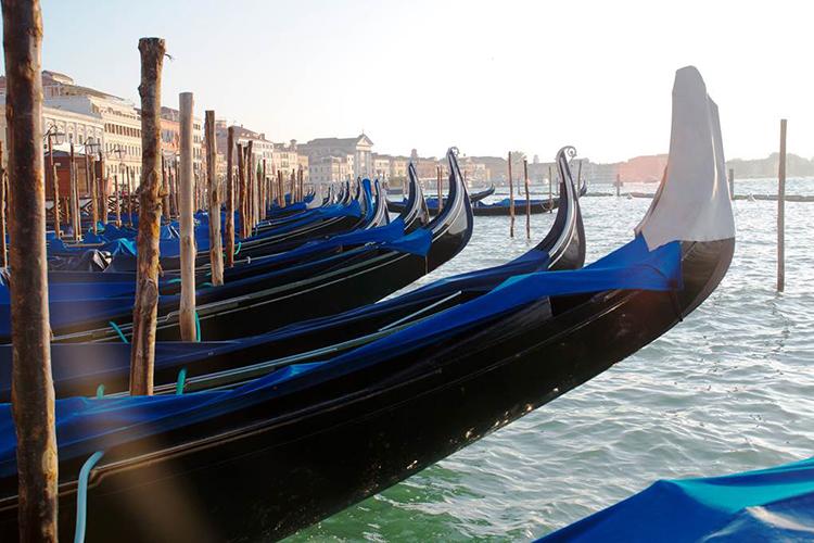 David O_Gondolas in Venice