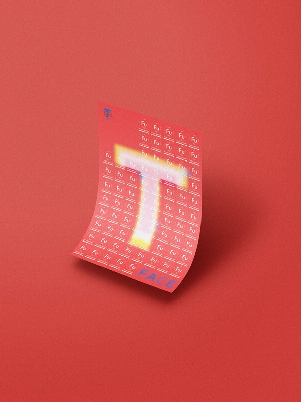 TYPEFACES POSTER - ——-
