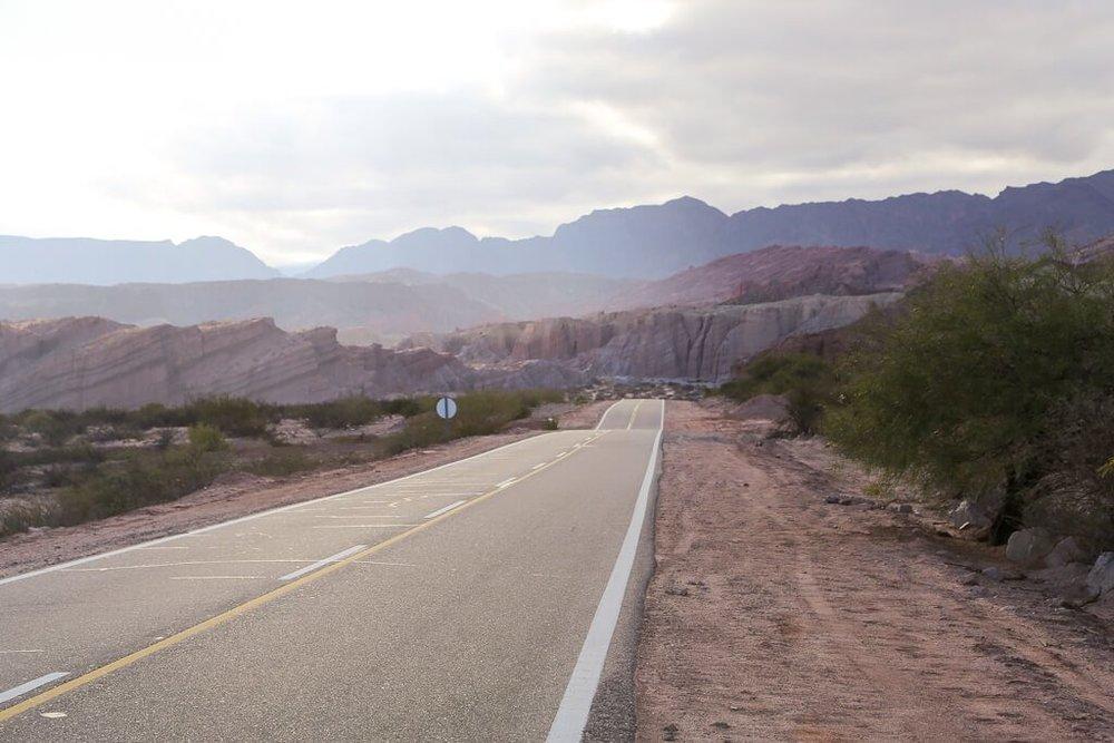 Road trip through quebrada de las Conchas