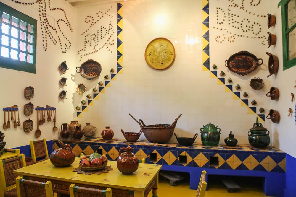 Frida Kahlo Museum Coyoacan Mexico City