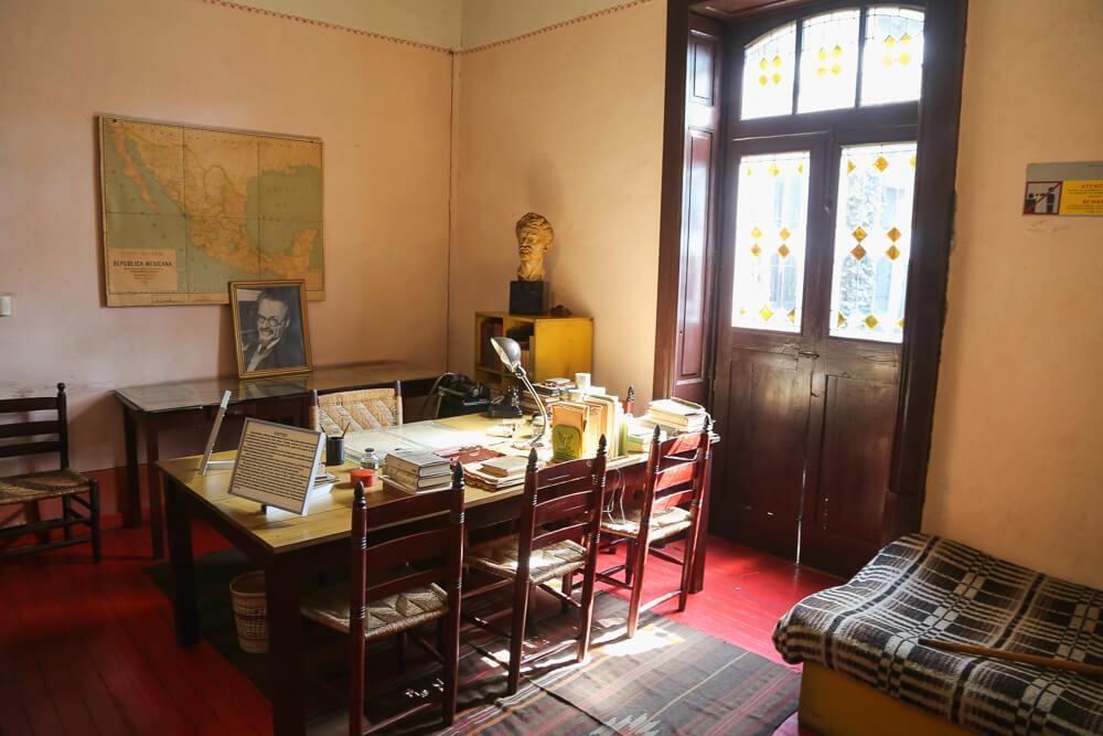 Casa Trotsky museum in Mexico City