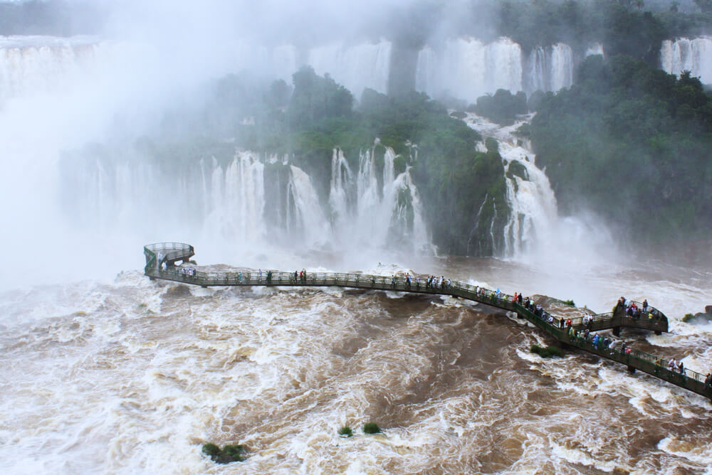 Iguazu Falls from the Brazilian Side