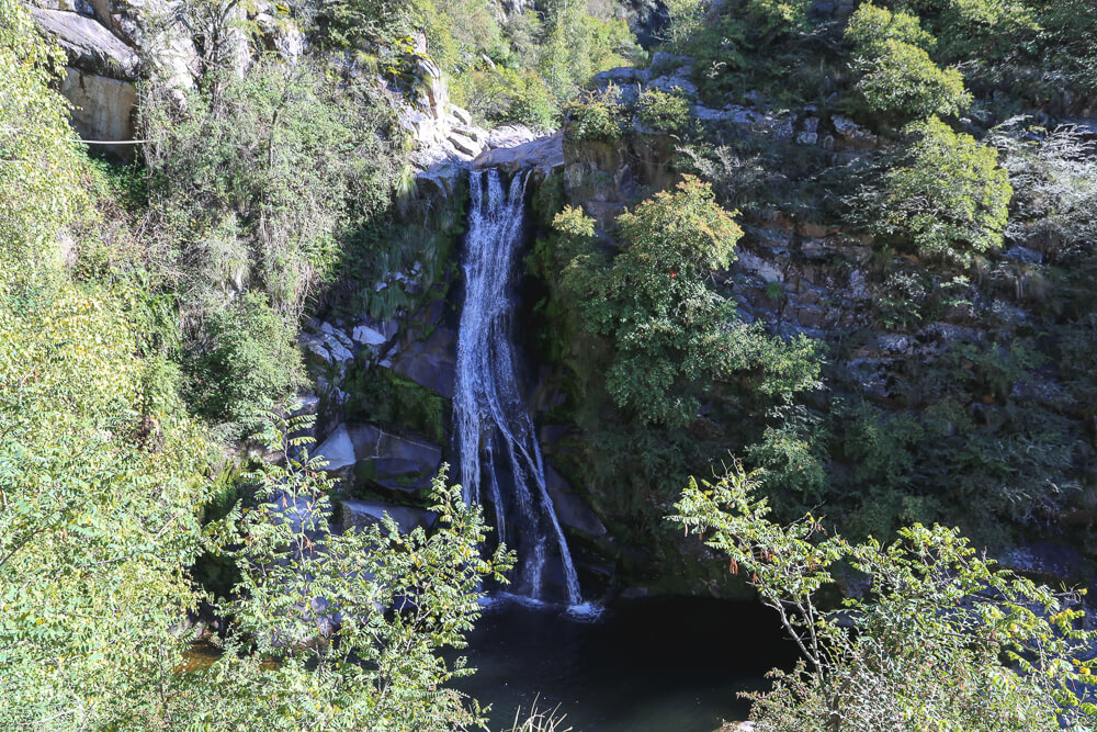 Hike to the waterfall in La Cumbrecita Cordoba