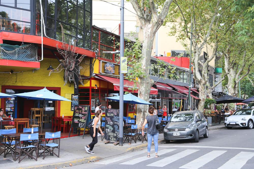 Plaza Serrano in buenos aires