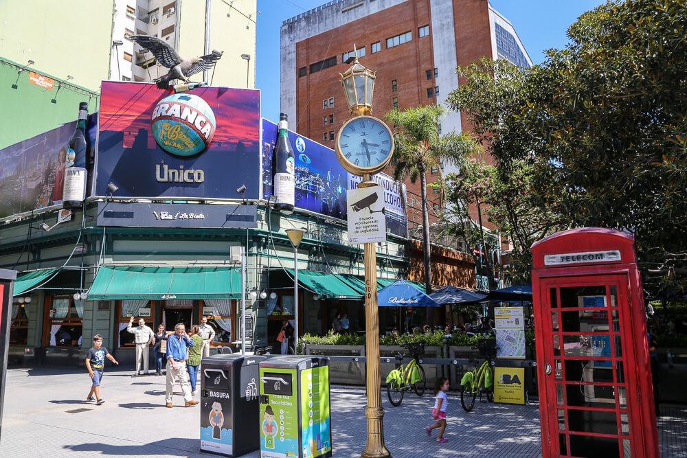 Cafe Biela a historic cafe in Recoleta Buenos Aires