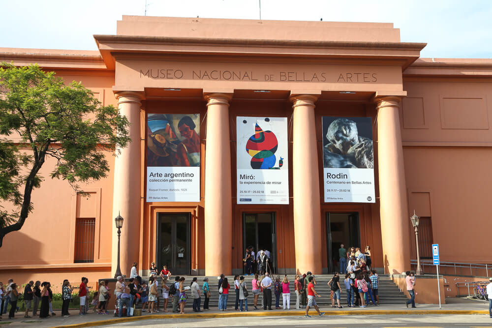 The Museo Nacional de Bellas Artes | Fine Arts museum in Recoleta