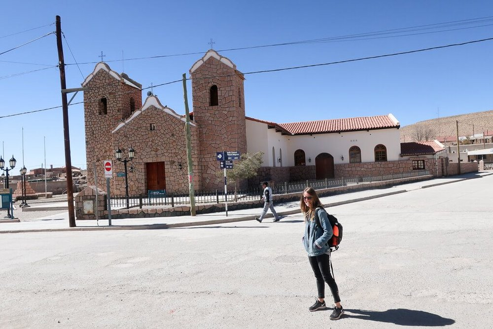 The town of San Antonio de los Cobres in Salta