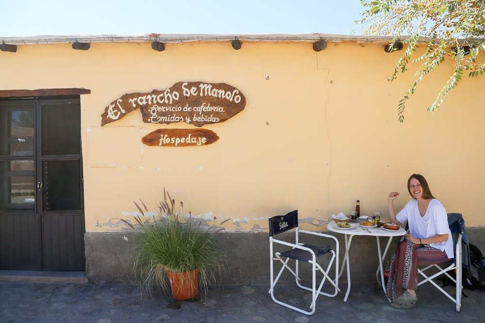 Lunch at Molinos Salta