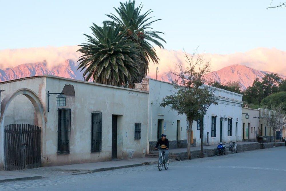 San Carlos near Cafayate in Salta
