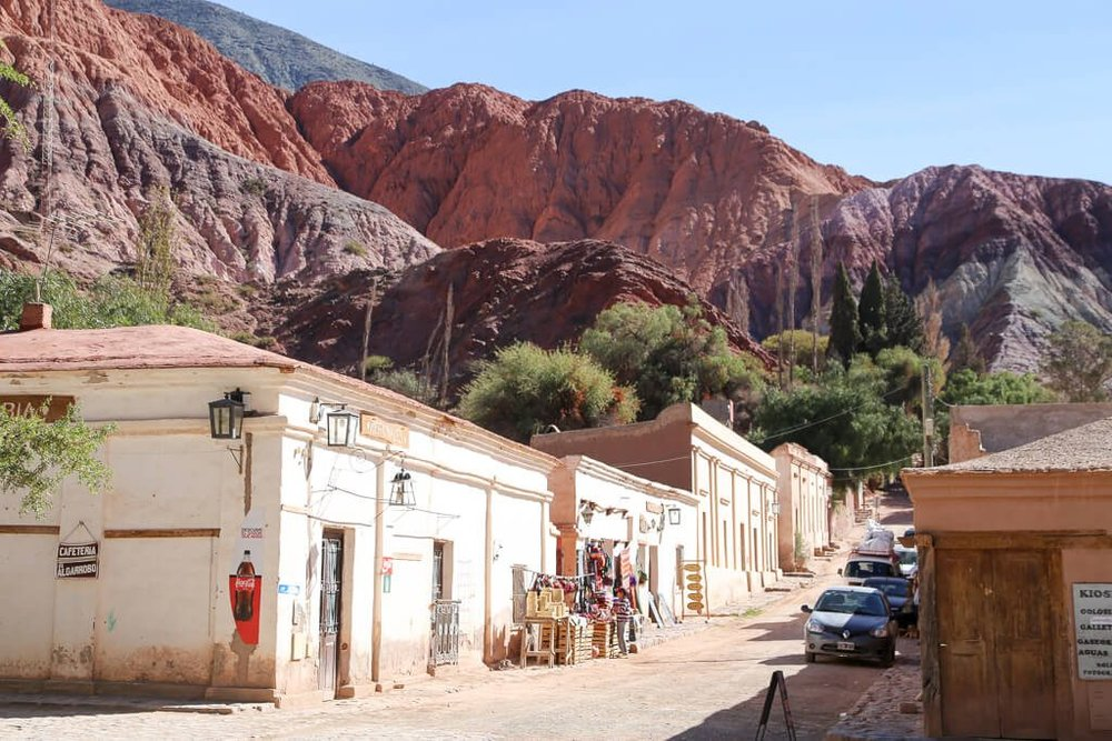 Day trip to Purmamarca from salta