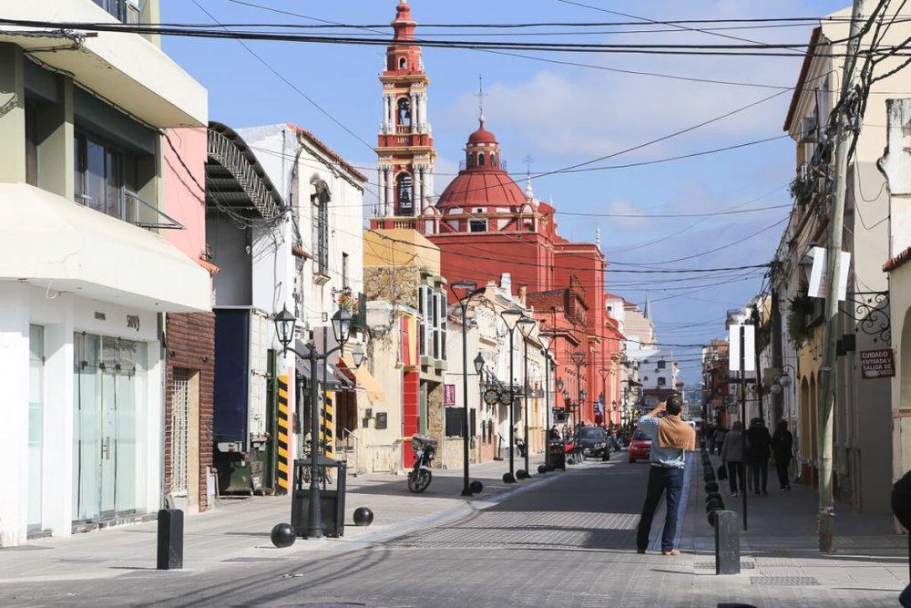 The streets of Salta Argentina