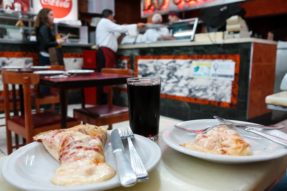 The best pizza in Buenos Aires