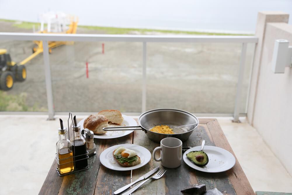 Breakfast in puerto piramides