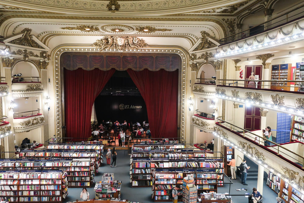 El Ateneo | The most beautiful bookstore in Buenos Aires is inside an old theater