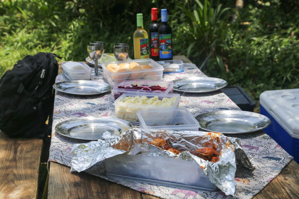 Guided game drive picnic lunch at Isimangaliso Wetlands