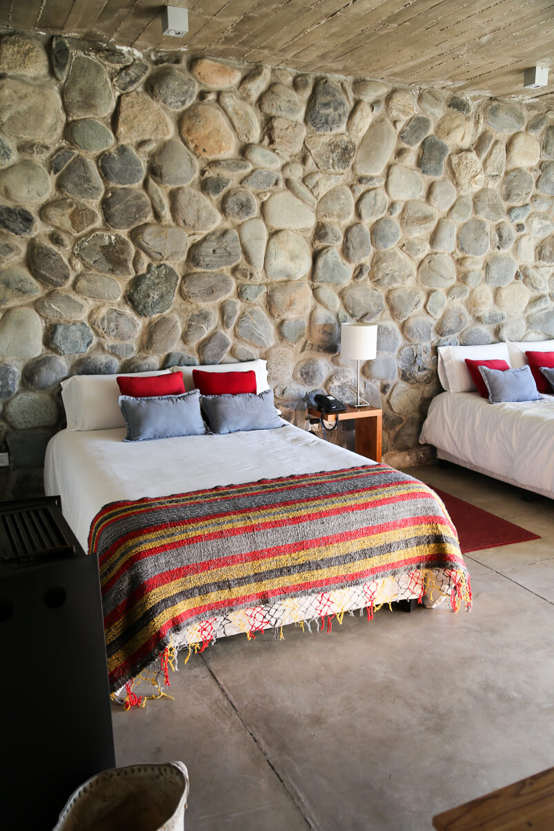 Where to stay in Mendoza Argentina at Bodega la Azul Guesthouse