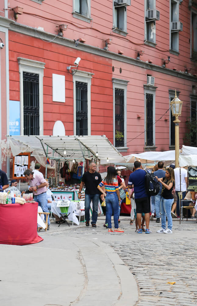 Visit the Recoleta market