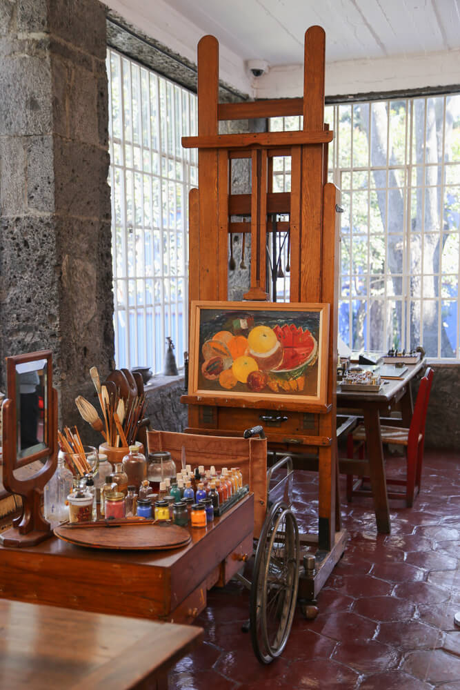 How to visit Frida Kahlos House in Mexico City