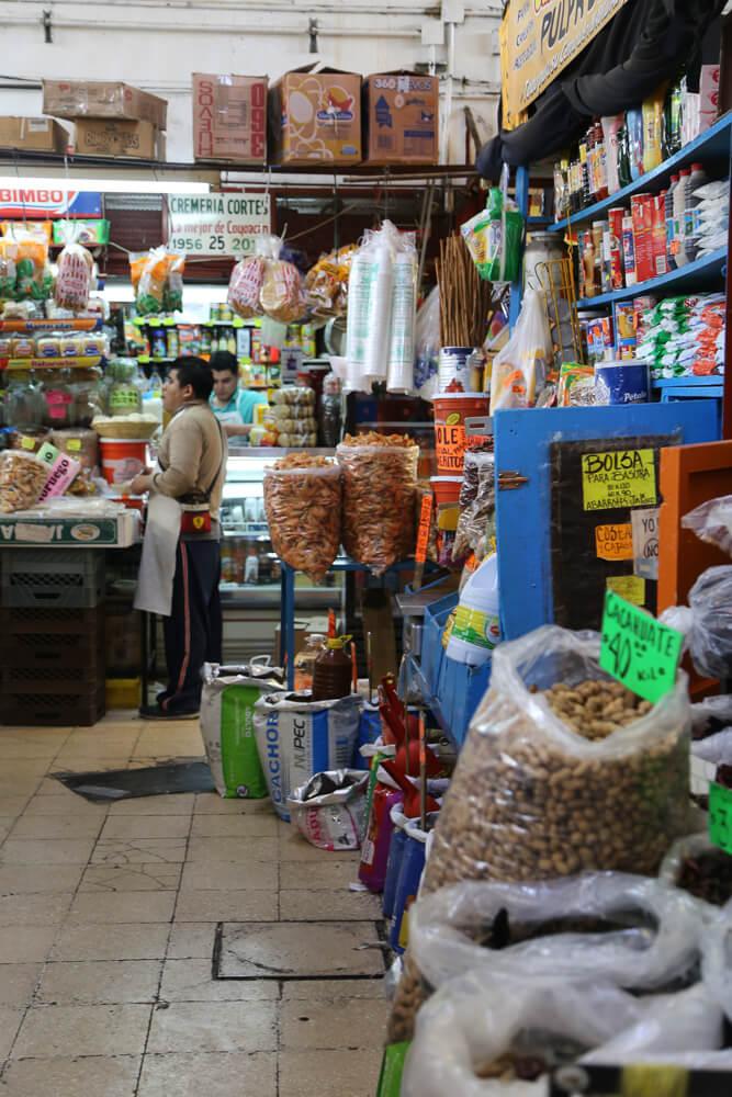 SHopping in the Coyoacan Market