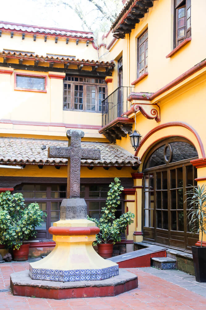 One day in Coyoacan Mexico City