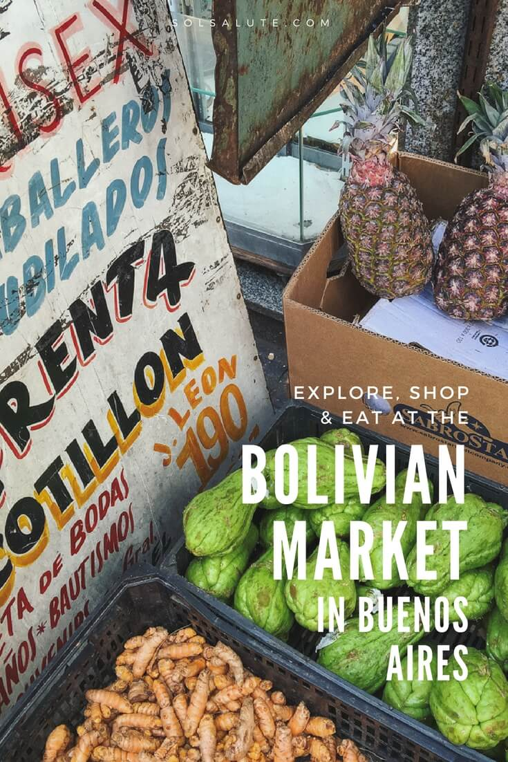 How to visit Liniers Buenos Aires, the Bolivian Market in Buenos Aire, How to get to Liniers and liniers safety advice. #BuenosAires #BolivianMarket #Liniers #Argentina via @solsalute