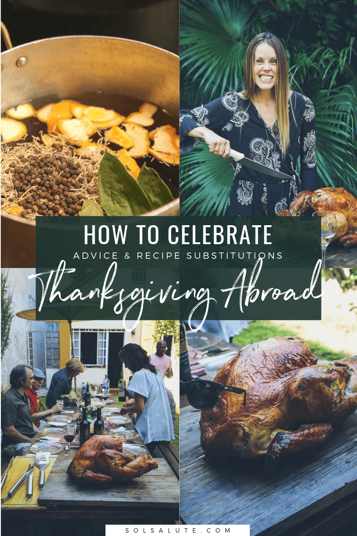 How to celebrate Thanksgiving as an expat, recipe substitutions for turkey in Argentina #Expatlife #Thanksgivingabroad