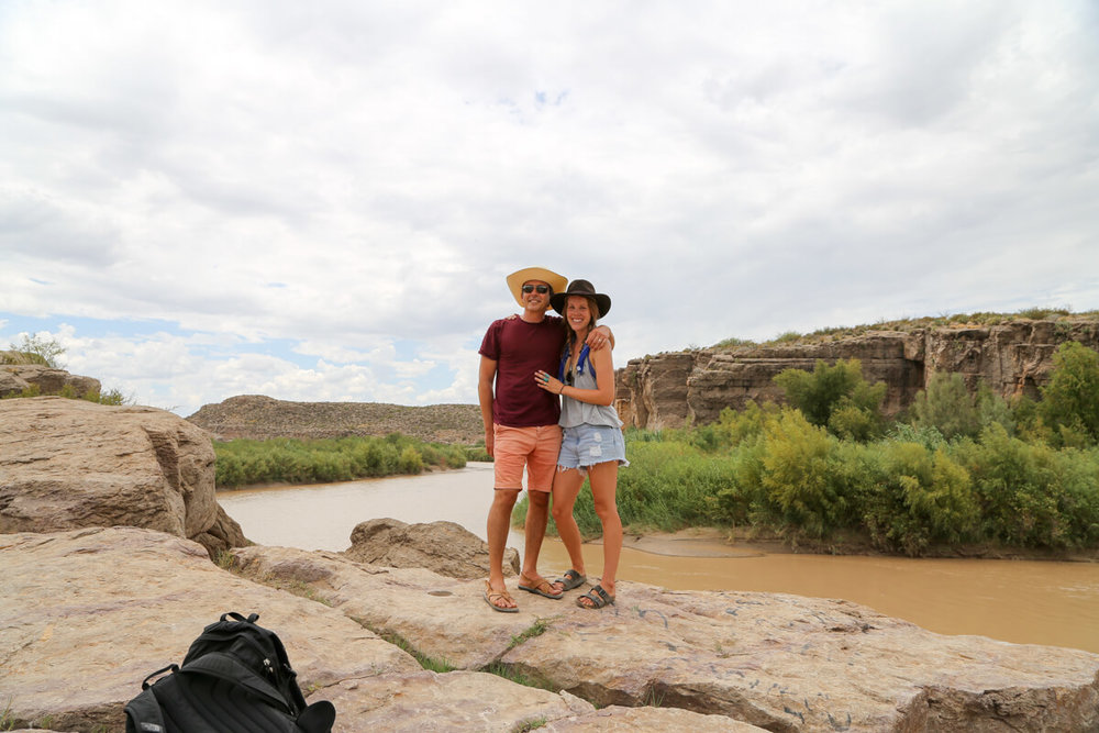 Seeing the Rio Grande from mexico