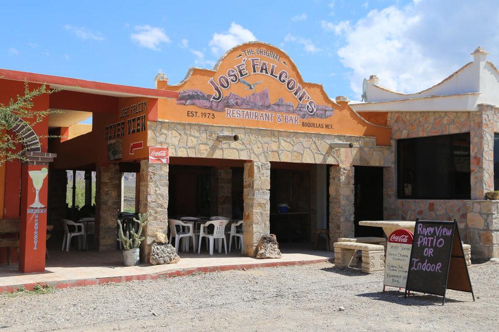 where to eat in Boquillas del Carmen
