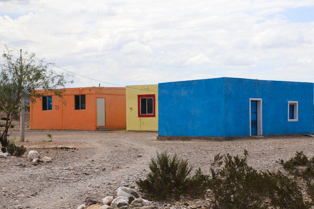 Small town in Mexico Boquillas del Carmen