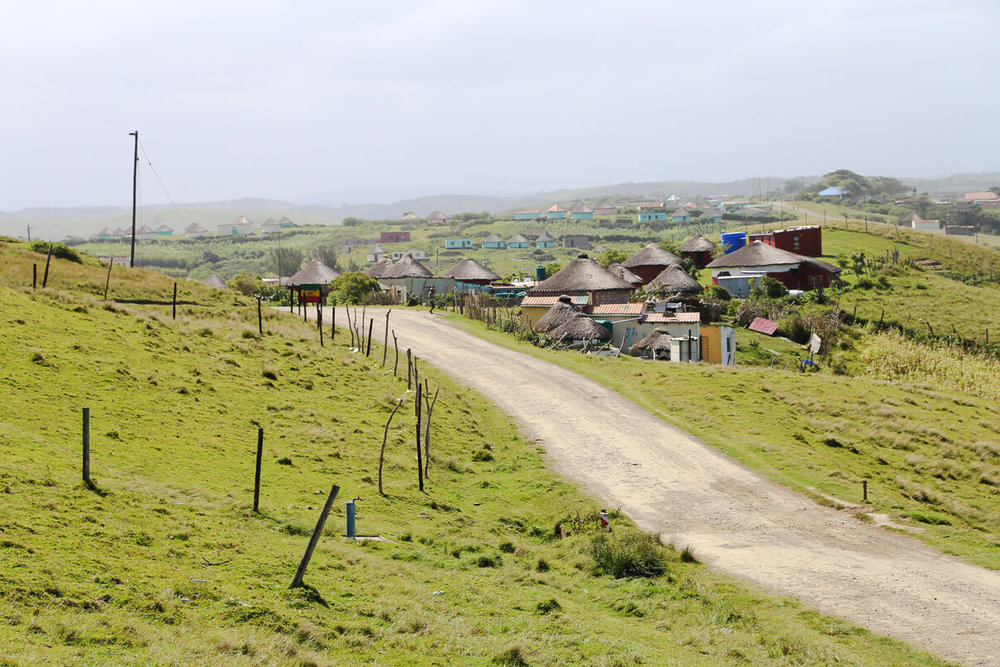 The village of Tshani The Wild Coast