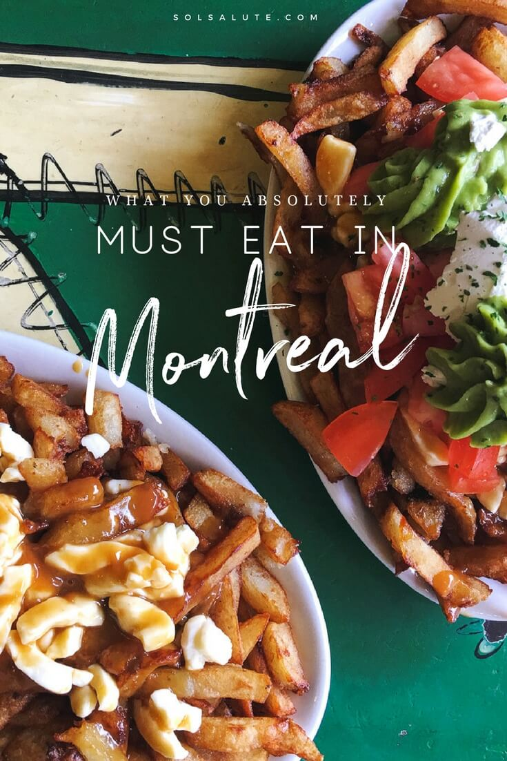 What to eat in Montreal | Where you have to eat in Montreal Canada, The best poutine in Montreal #Montreal #Canada via @solsalute