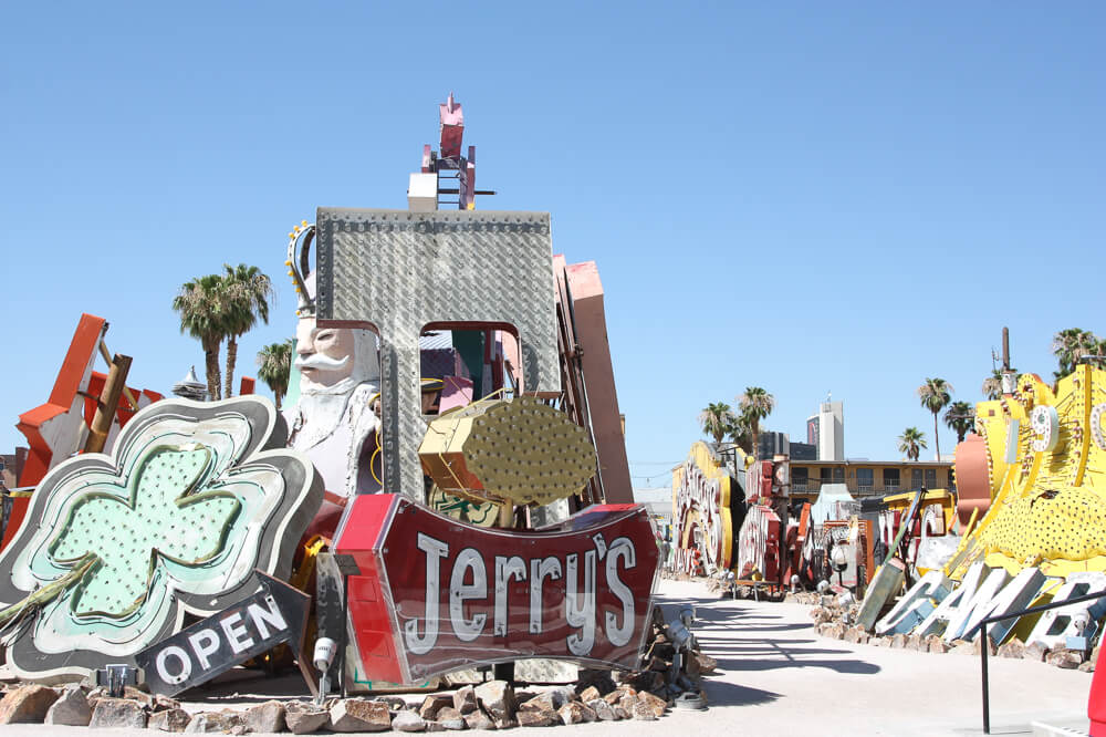 Neon lights in Las Vegas at the Neon Museum