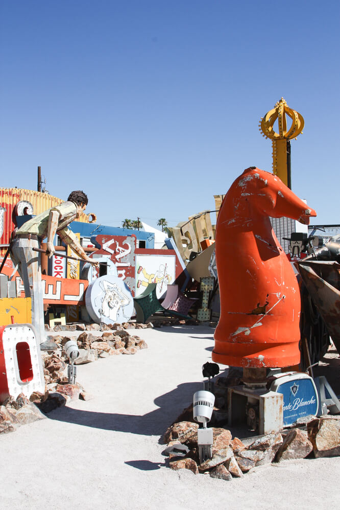 The Neon Sign boneyard in Las Vegas