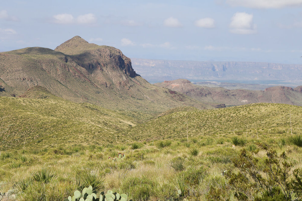 Hiking in Big Bend National Park