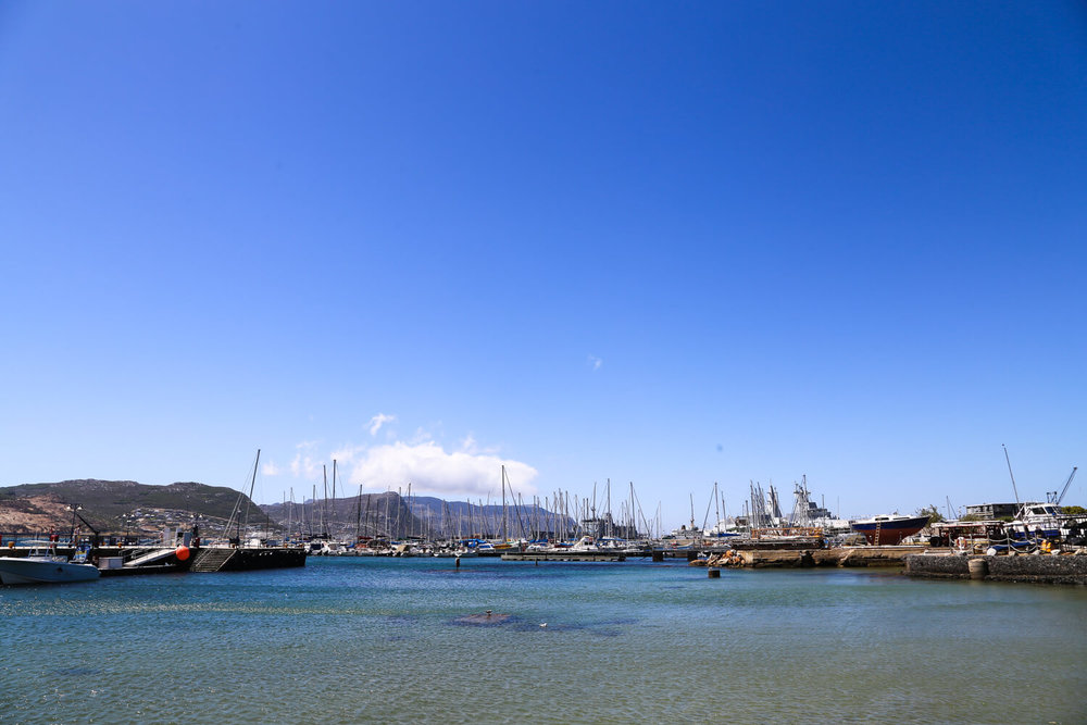 Our view from lunch in Simon's Town
