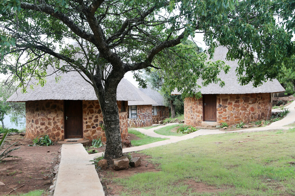 Traditional Swaziland accommodation in Shewula