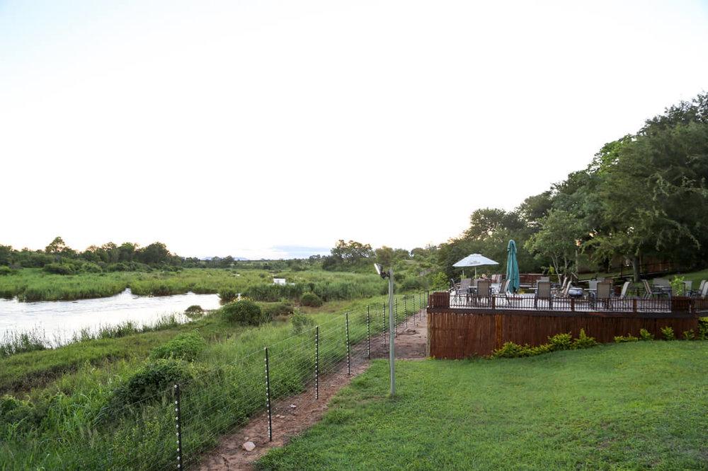 Sabie River Bush Lodge outside Kruger National Park