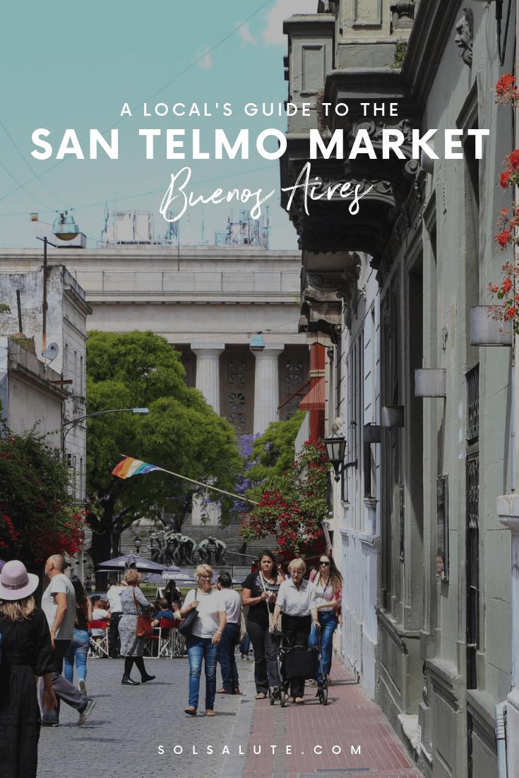 A Local's Guide to the San Telmo Market Buenos Aires, San Telmo Fair, Antique Shopping in Buenos Aires Market in San Telmo Flea Market #SanTelmo #BuenosAires #Argentina