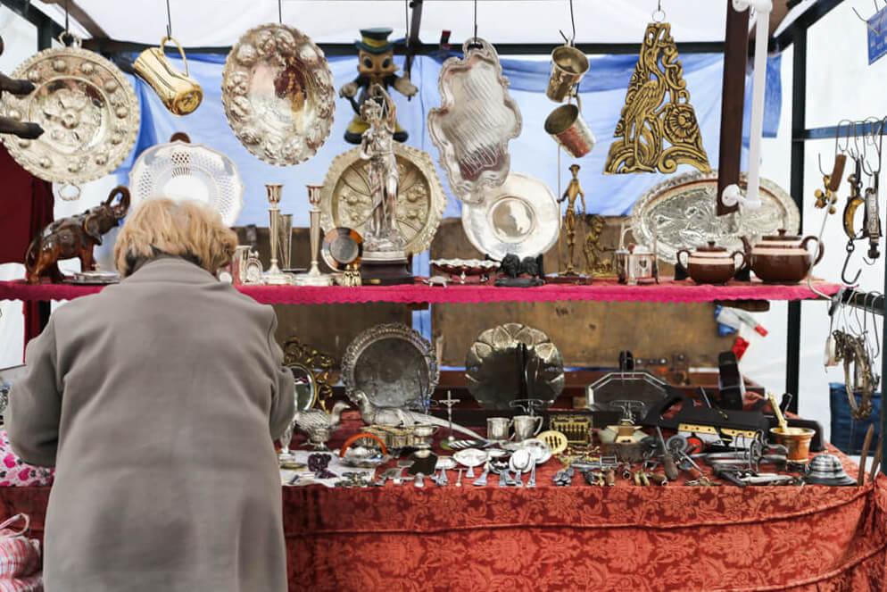 Where to go antique shopping in the San Telmo market