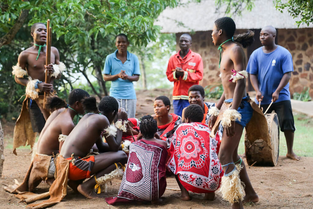 2 weeks in South Africa aren't complete without watching these dancers in Swaziland