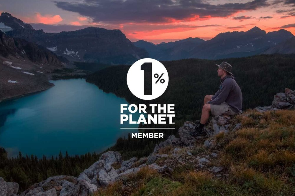 1% FOR THE PLANET - We truly believe that health and wellness come from the environment. We're all about practicing what we preach and that's why we're proud supporters of 1% For The Planet.