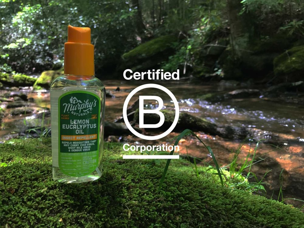 CERTIFIED B CORPORATION - In 2015, Murphy's Naturals earned certification as a B Corporation, an acknowledgment of the company's commitment to social and environmental ethics, transparency and accountability.