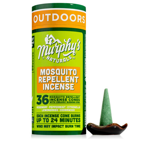 Mosquito Repellent Incense Cones Invite Guests Not Mosquitoes