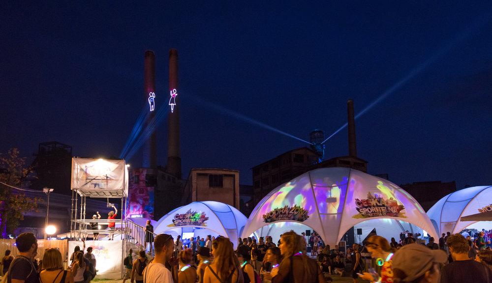 2017 & 2018  Colours of Ostrava  16 000 návštěvníků