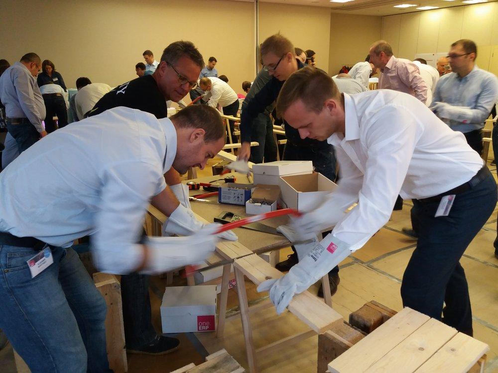 teambuildings -