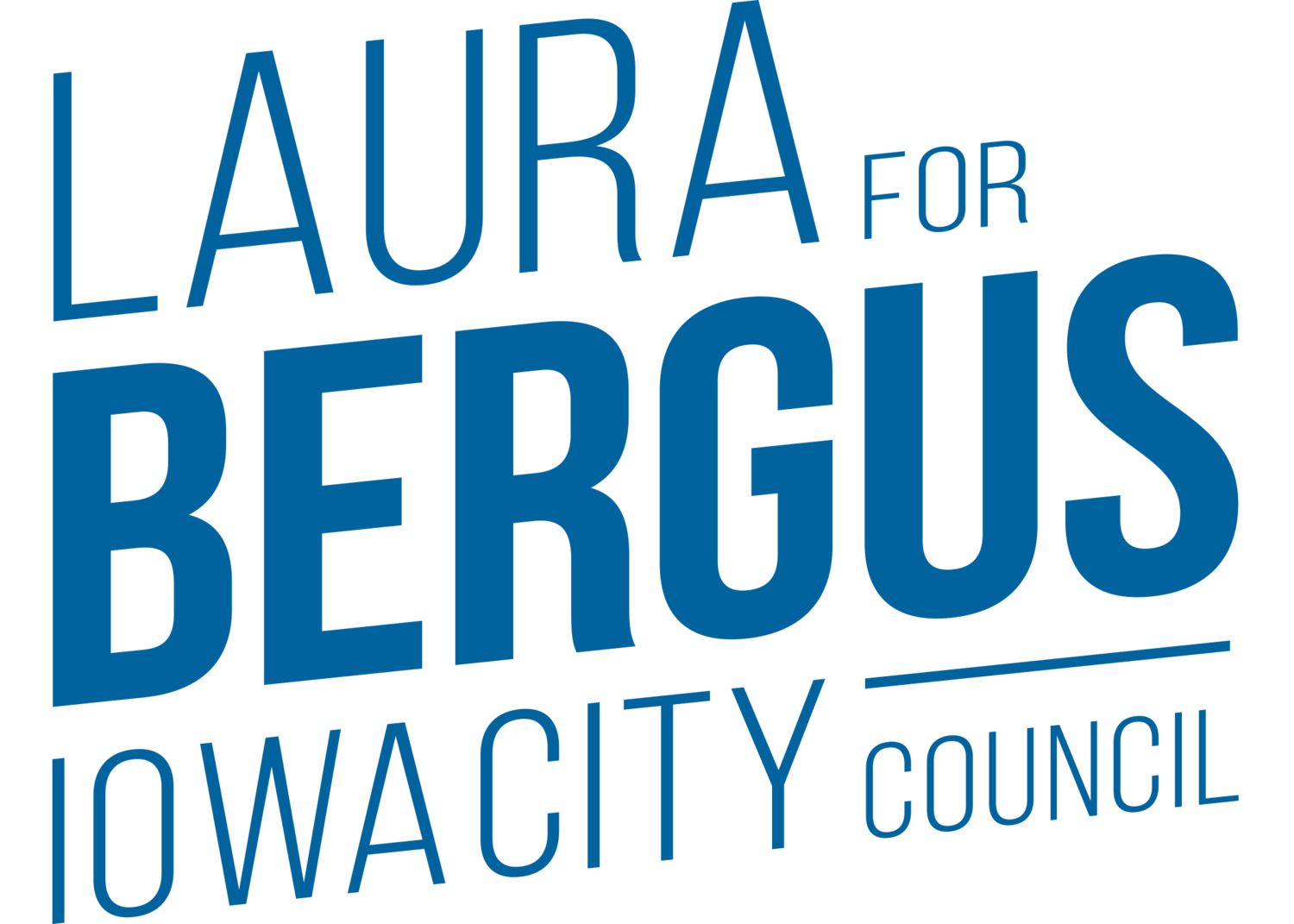 Laura Bergus for Iowa City Council