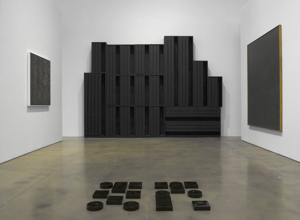 Jack Tworkov, Adam Pendleton, Jack Whitten, Louise Nevelson, Pace, Blackness in Abstraction