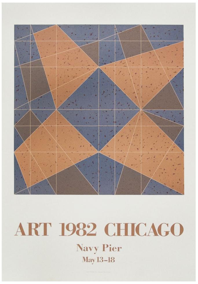 Jack Tworkov, Chicago Expo, 1982, Tyler Graphics, Art Chicago
