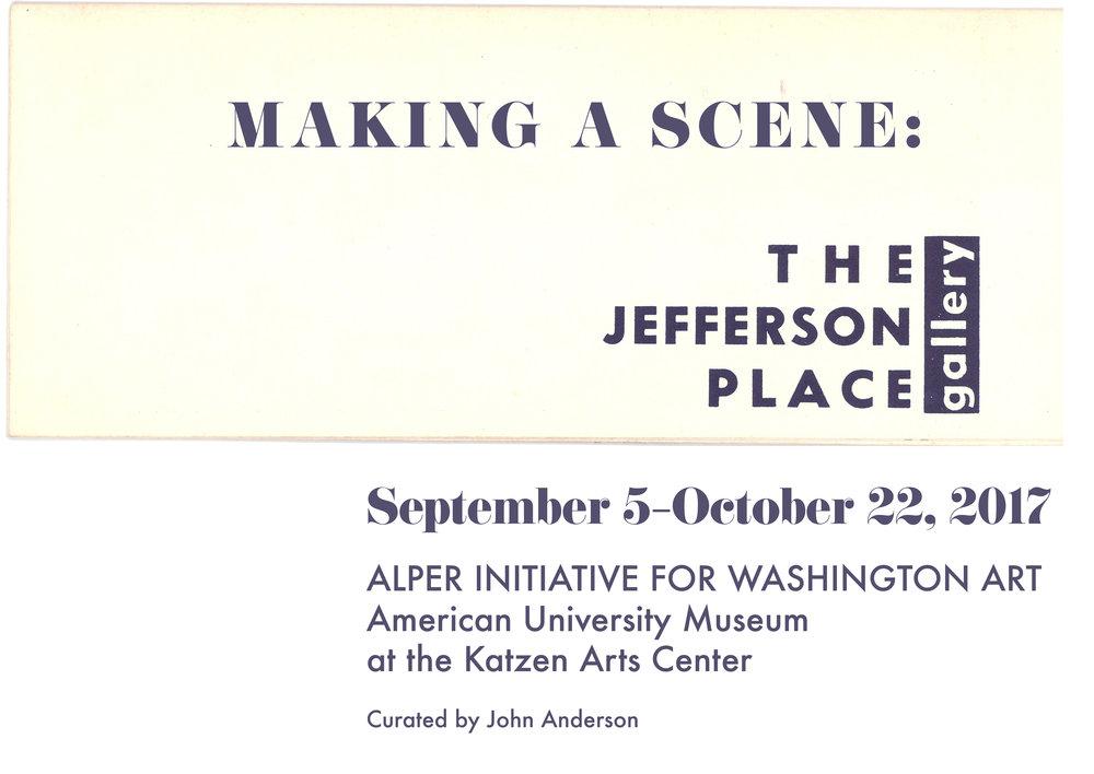 Jack Tworkov, Jefferson Place Gallery