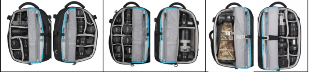 (The photo from left to right: 16L, 22L, 30L)